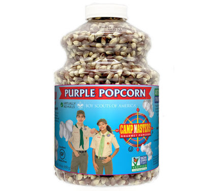 Picture of Purple Popping Corn Jar
